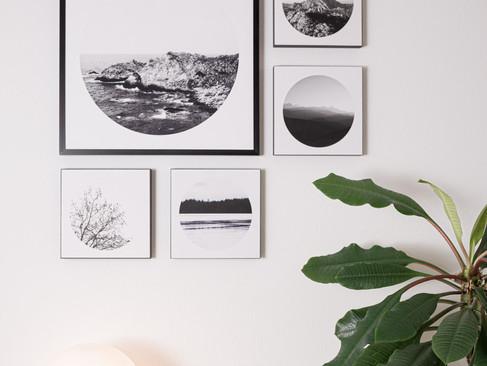 Kunstdruck 32x32cm inkl. schwarzem Aluminium-Bilderrahmen   Set 159€  Artikelnr: 4019 Bestellung per Kontaktformular