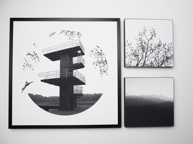 Kunstdruck 32x32cm inkl. schwarzem Aluminium-Bilderrahmen   Set 99€  Artikelnr: 4010 Bestellung per Kontaktformular