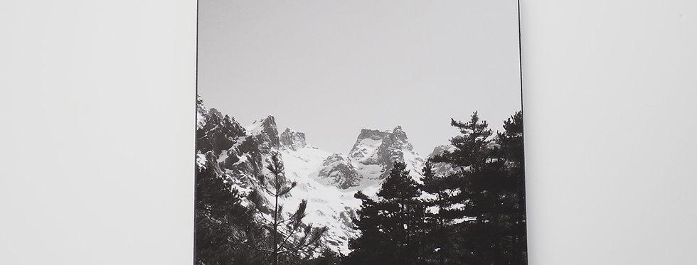 holzbild . mountain