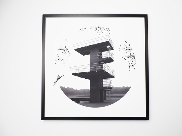 Kunstdruck 32x32cm inkl. schwarzem Aluminium-Bilderrahmen.   49€  Artikelnr: 4003 Bestellung per Kontaktformular