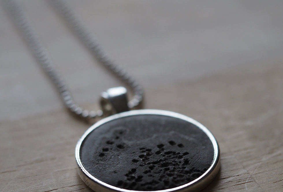 black earth pendant