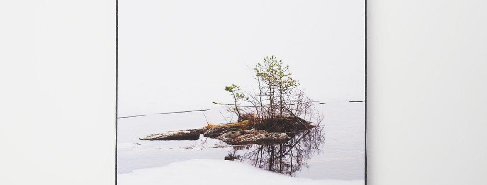 holzbild . little island