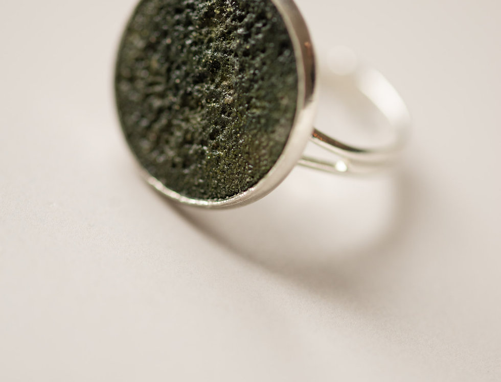 deep green ring XL