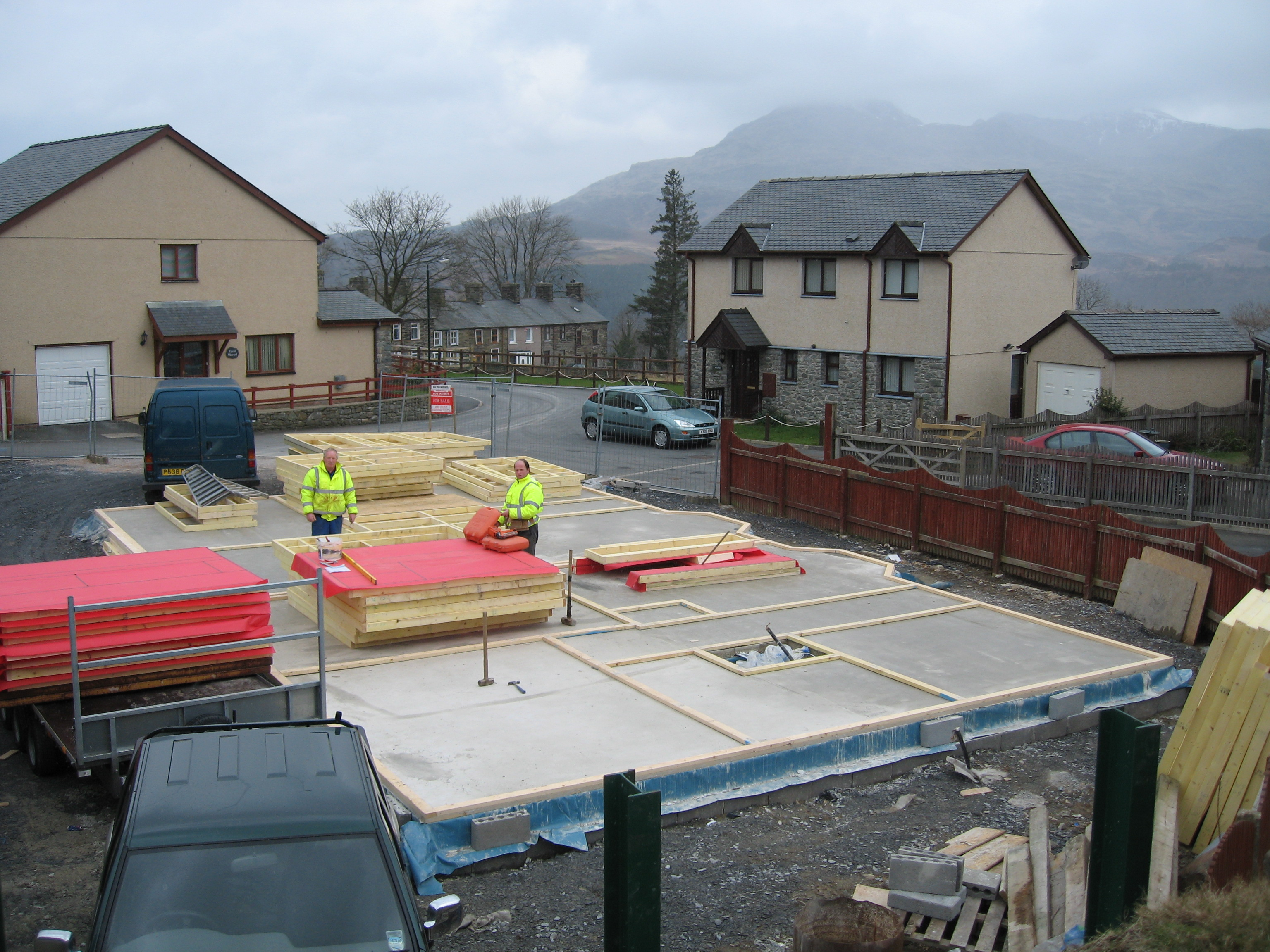 Our own development in Ffestiniog, Snowdonia