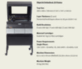 Statistics on Olympic Labs Objet30 Orthodesk 3D printer.