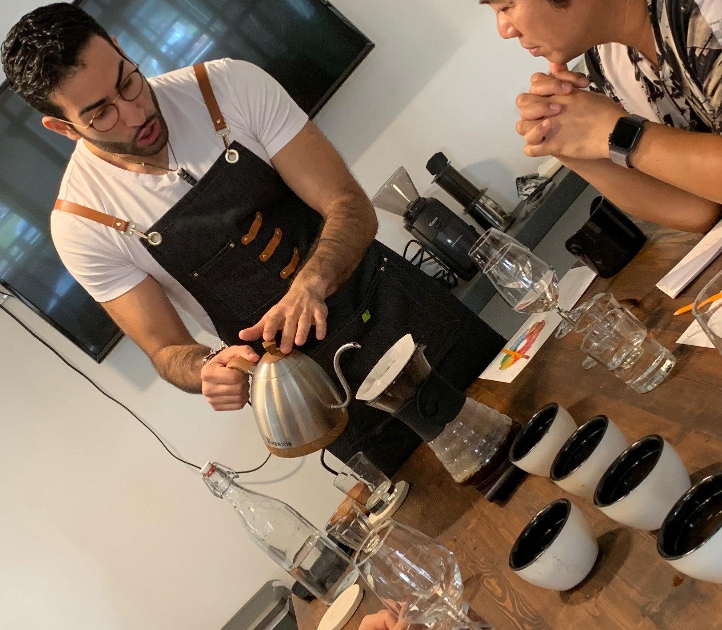 Specialty Coffee Tasting