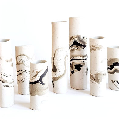 Hand crafted ceramics made at Edinburgh Ceramics Workshop