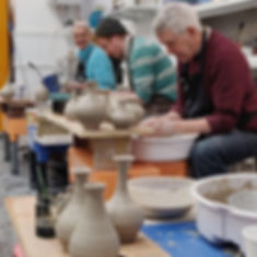 Beginner and Intermediate pottery classes at Edinburgh Ceramics Workshop