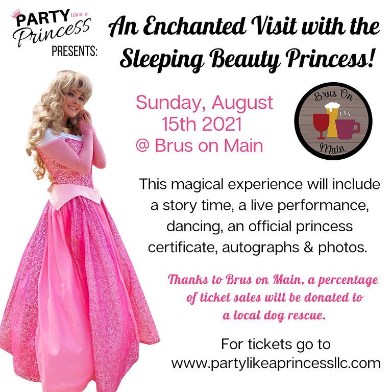 An Enchanted Visit with the Sleeping Beauty Princess!