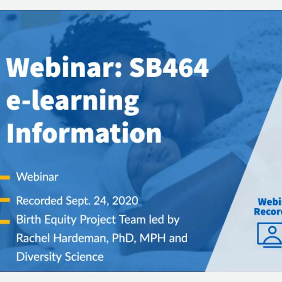 Diversity Science: SB 464 Series