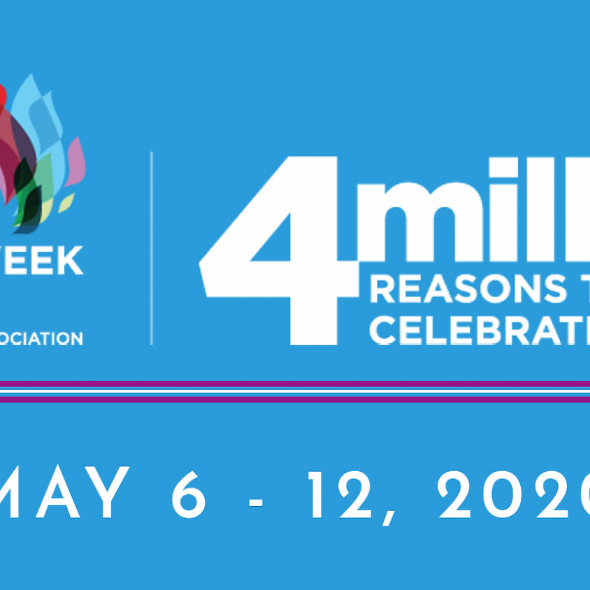 National Nurse's Week is May 6-12, 2020