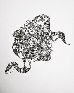 Snake Mandala