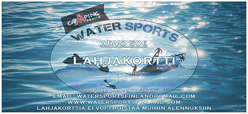 Camping Messilä Watersports Lahjakortti