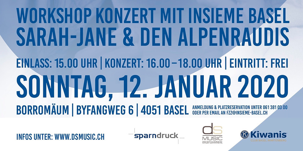 Benefiz Konzert - Insieme Basel