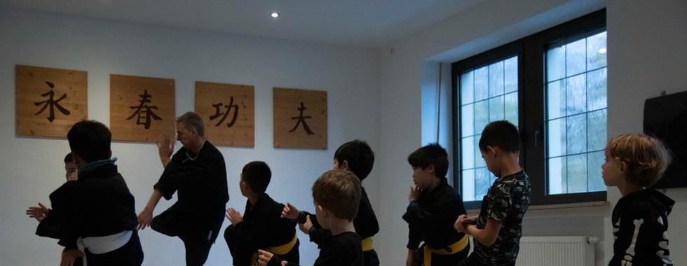Kinder Kung Fu - Formen