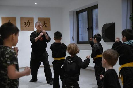 Kinder Kung Fu - San Sik Übungen