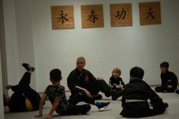 Kinder Kung Fu - Bodenkampf