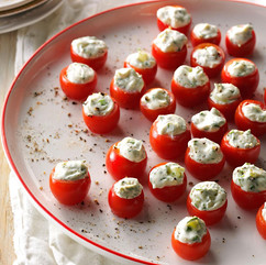 Herb Stuffed Tomatos