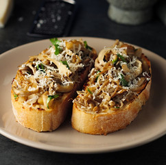 Wild Mushrooms Bruschetta