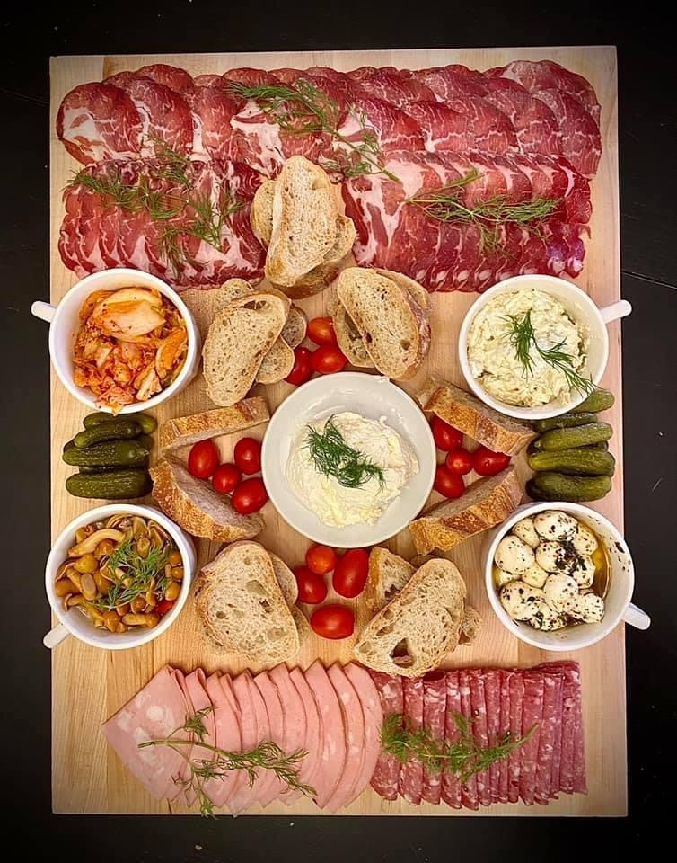 Charcuterie tray for Halloween