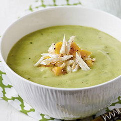 Crab Avocado Soup