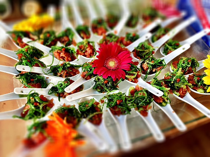 On The Roll Catering Appetizer tray