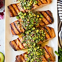 Green Salsa Salmon