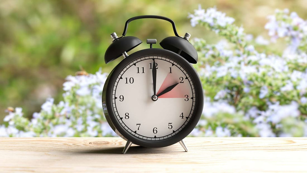 daylight savings time change clock
