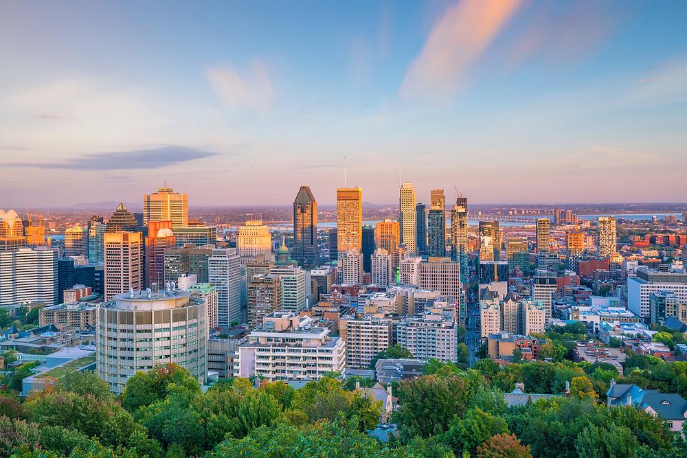 daylight savings time change canada montreal
