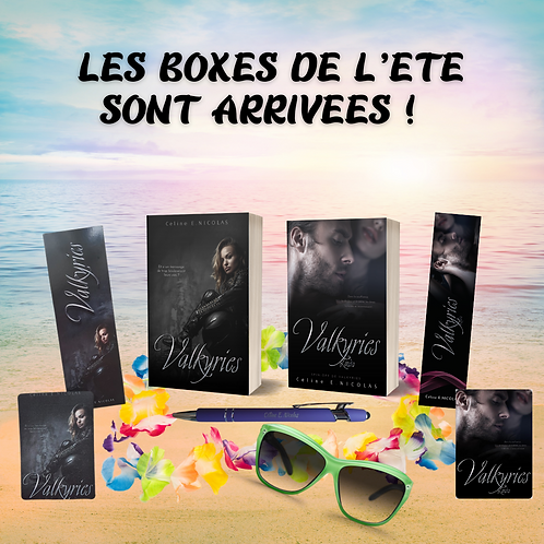 Boxe Été 2 romans Valkyries (pack sensations)