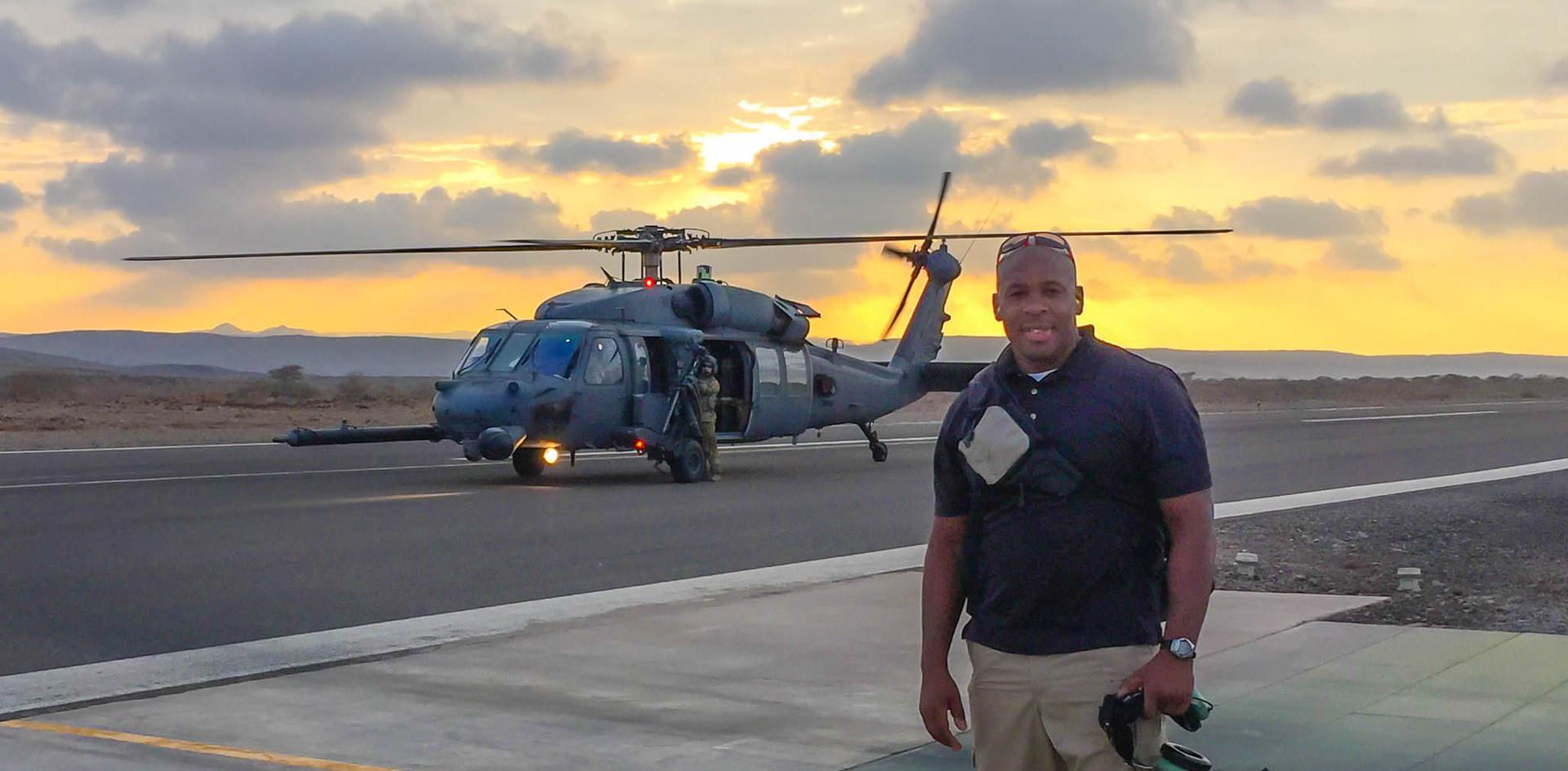 Recon Flight, Djibouti, Africa