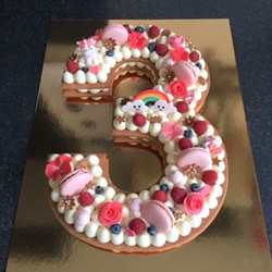 number cake 3