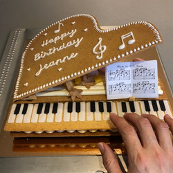 PIANO CAKE BIS
