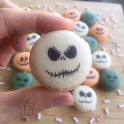 Macaron pour Halloween