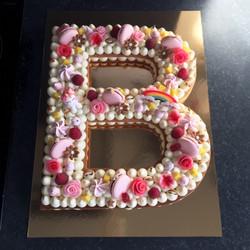 Letter cake B