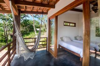 Private room surf yoga hotel Costa Rica