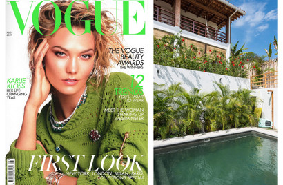 Featured in Vogue wellness edition
