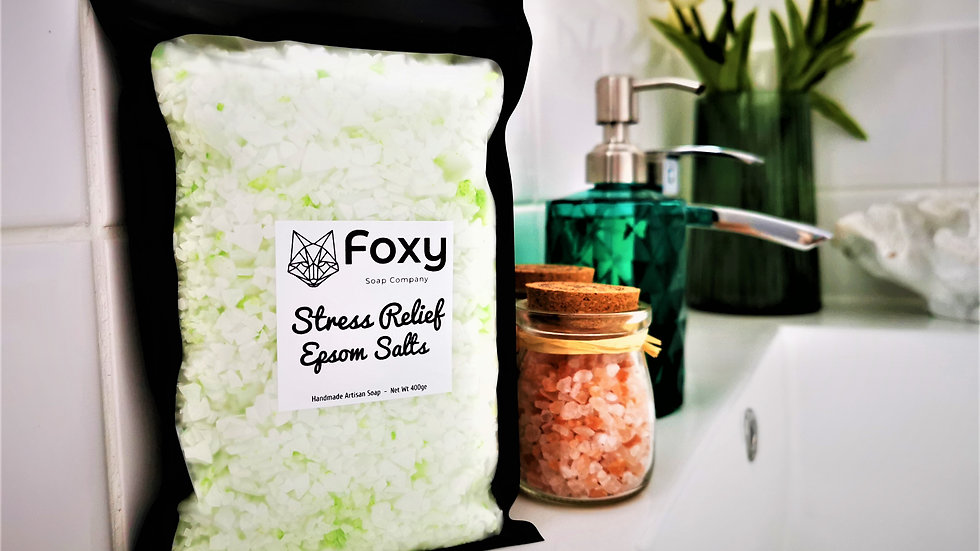 Stress Relief Organic Epsom Salts