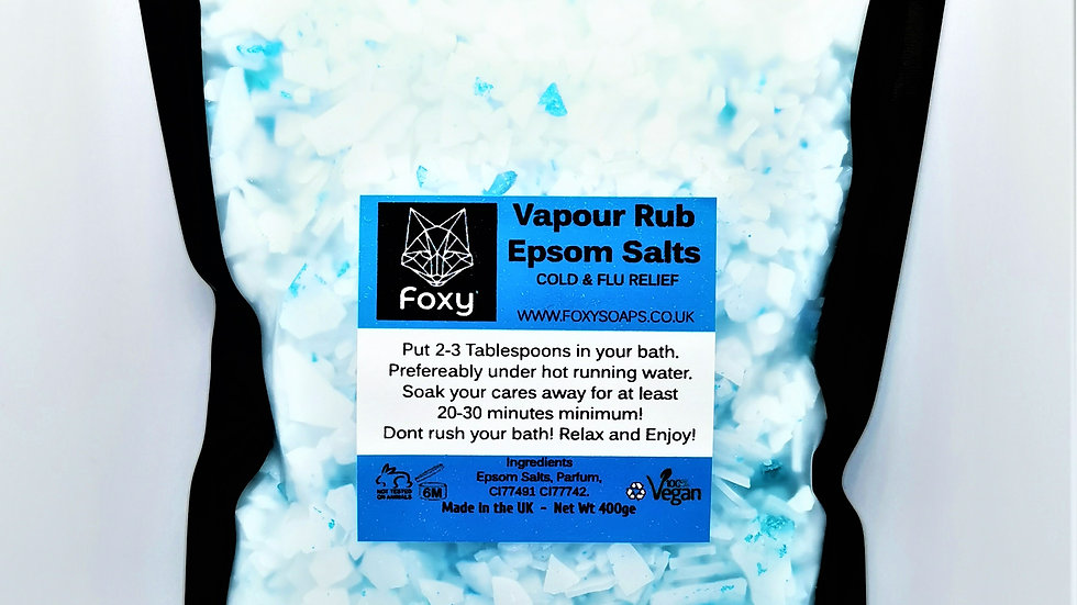 Vapour Rub Epsom Salts