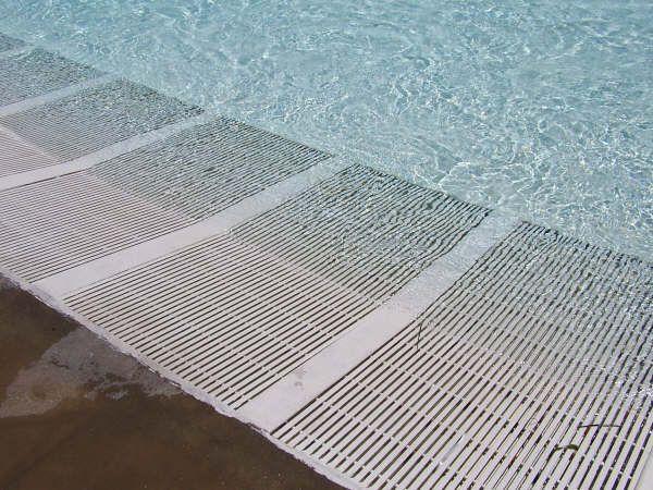 Grating Piso Bajo Agua