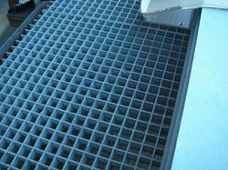Grating FRP Blue