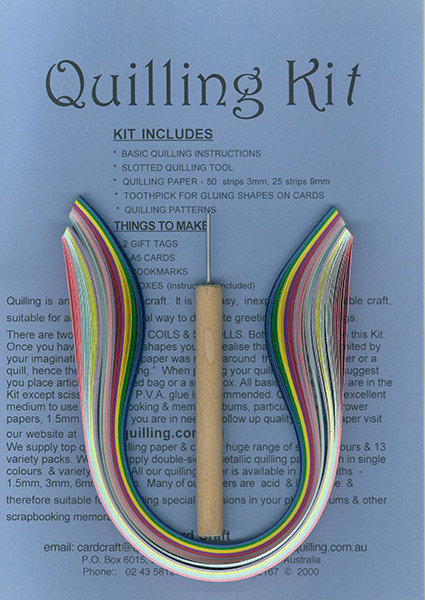 Beginners Quilling Kit