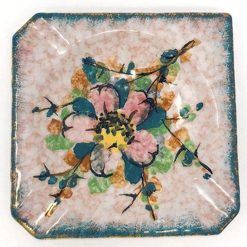 Vintage Handpainted Ceramic Italian Ashtray