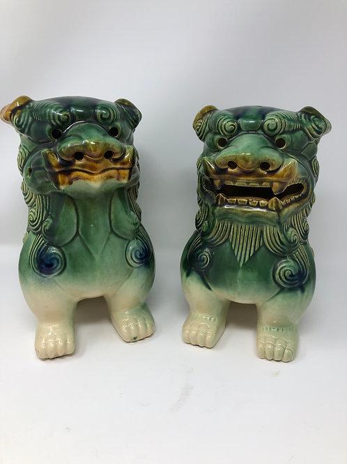 Shishi Foo Dog Pair