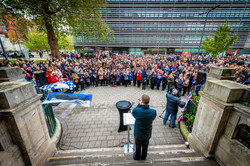 Memorial event in leicester