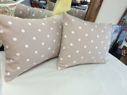 Spotty Cushions