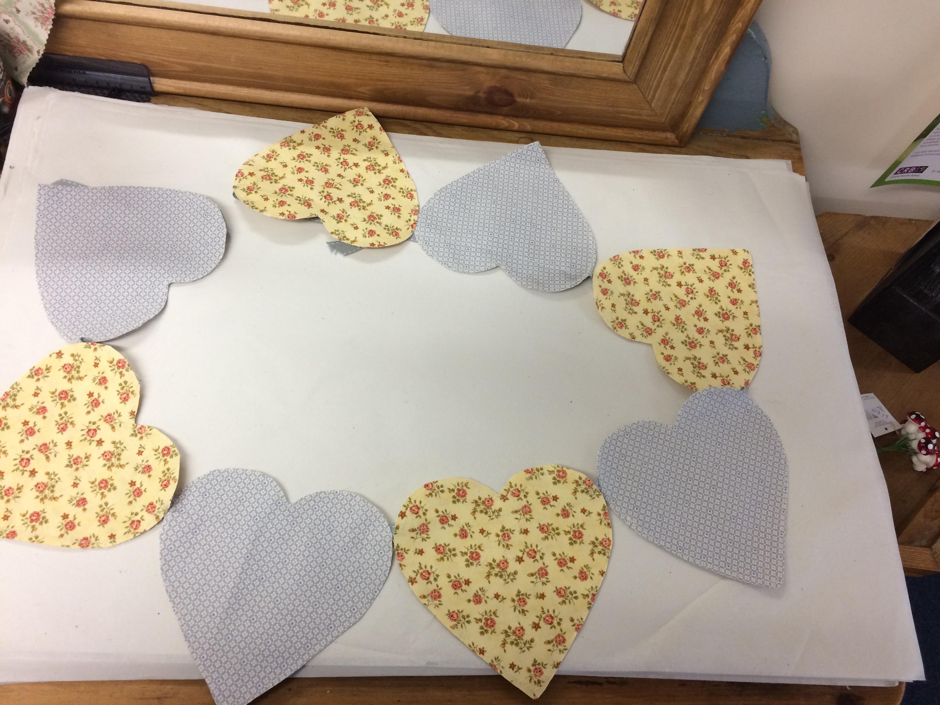 Handmade Heart Bunting