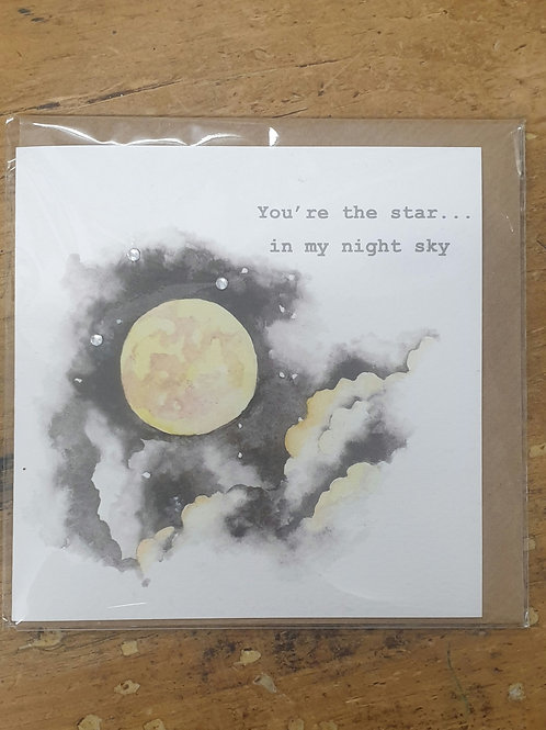 Night Sky Card