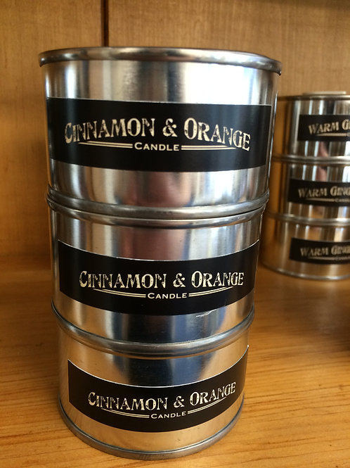 Cinnamon and Orange Scented Candle