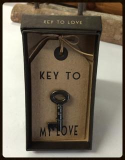 """""""Key to my love"""" Key"""
